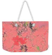 Rose Diffused Weekender Tote Bag