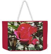 Rose Evening,oil Weekender Tote Bag