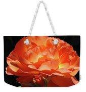 Rose Flower Art Prints Oragne Roses Summer Botanical Baslee Troutman Weekender Tote Bag