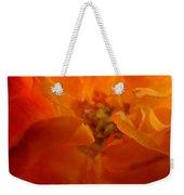 Rose Flower Orange Glowing Rose Giclee Baslee Troutman Weekender Tote Bag