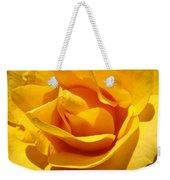 Rose Flower Orange Yellow Roses 1 Golden Sunlit Rose Baslee Troutman Weekender Tote Bag