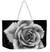 Rose In Mono. #flower #flowers Weekender Tote Bag