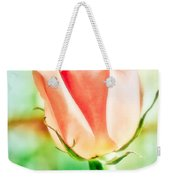 Rose In Window Weekender Tote Bag