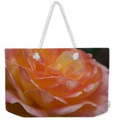 Rose In Yellow And Pink I Weekender Tote Bag