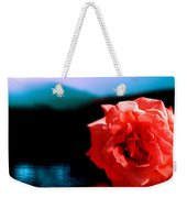 Rose Lake Weekender Tote Bag