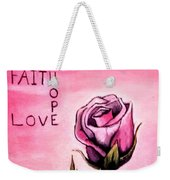 Rose Of Hope Weekender Tote Bag