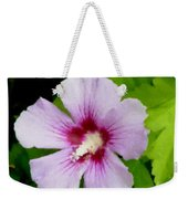 Rose Of Sharon Close Up Weekender Tote Bag