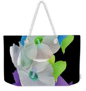 Rose Of Sharon Painted Weekender Tote Bag