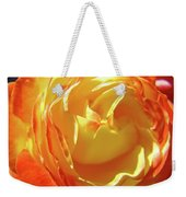 Rose Orange Yellow Roses Floral Art Print Nature Baslee Troutman Weekender Tote Bag