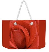 Rose-paintdaubs-2 Weekender Tote Bag
