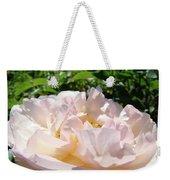 Rose Pink Sunlit Rose Flower Art Prints Baslee Troutman Weekender Tote Bag