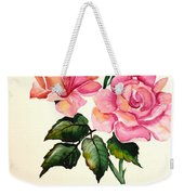 Rose Poem Weekender Tote Bag