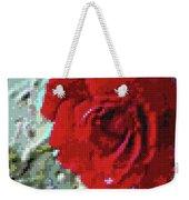 Rose Red Weekender Tote Bag