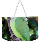 Rose-ringed Parakeet Weekender Tote Bag