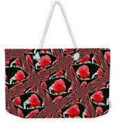Rose Tiles Weekender Tote Bag