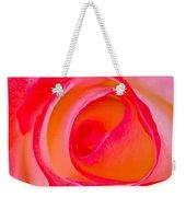 Rose Whorls Weekender Tote Bag
