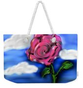 Rose Within The Clouds Weekender Tote Bag