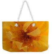 Rose Yellow Weekender Tote Bag