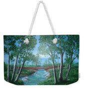 Roseanne And Dan Connor's River Bridge Weekender Tote Bag