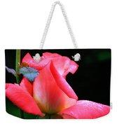 Rosebud And Dewdrops  Weekender Tote Bag