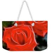 Roses-5814-fractal Weekender Tote Bag