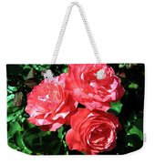 Roses 9 Weekender Tote Bag