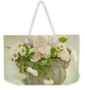 Roses And Daisys Weekender Tote Bag