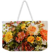 Roses And  Flowers  Weekender Tote Bag