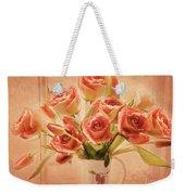 Roses And Tulips Weekender Tote Bag