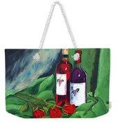 Roses And Wine Weekender Tote Bag