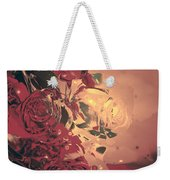 Roses Are Forever Weekender Tote Bag