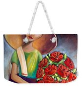 Roses Are Ref Weekender Tote Bag