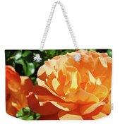 Roses Art Prints Orange Rose Flower 11 Giclee Prints Baslee Troutman Weekender Tote Bag