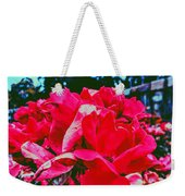 Roses At Mont Alto Weekender Tote Bag