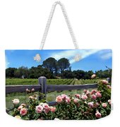 Roses At Rusack Vineyards Weekender Tote Bag