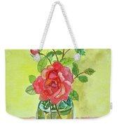 Roses For Dorothy Weekender Tote Bag