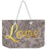 Roses For Love Weekender Tote Bag