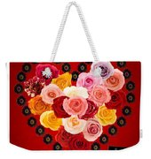 Roses For My Dear Love Weekender Tote Bag