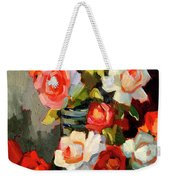 Roses From My Garden Weekender Tote Bag
