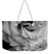 Roses In Black And White Weekender Tote Bag