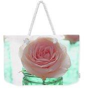 Roses In Green Jars Weekender Tote Bag