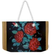 Roses In The Classic Style Weekender Tote Bag