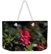 Roses In The Wind Weekender Tote Bag