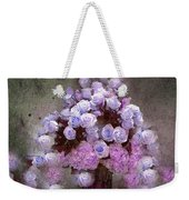 Roses Lilac And Shabby Pink Weekender Tote Bag