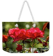Roses On A Sunny Day Weekender Tote Bag