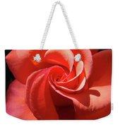 Roses Orange Rose Flower Spiral Artwork 4 Rose Garden Baslee Troutman Weekender Tote Bag