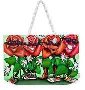Roses Party Weekender Tote Bag