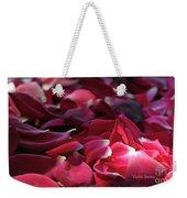 Rose Waves Weekender Tote Bag