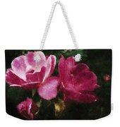 Roses With Texture Weekender Tote Bag