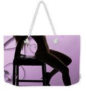 Rosie Nude Fine Art Print In Sensual Sexy Color 4696.02 Weekender Tote Bag